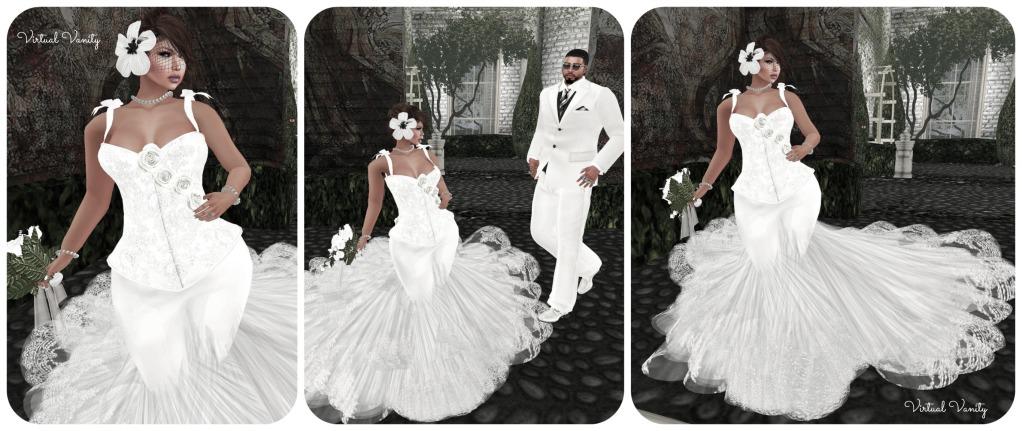 VVR Look # 35 Love Story... Clarissa Wedding Gown